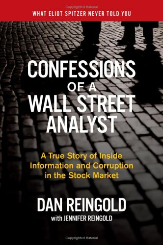 Confessions Wall Street Analyst