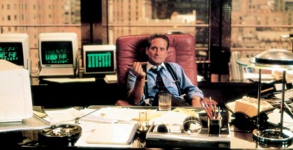 WALL STREET, Michael Douglas, 1987, TM  Copyright © 20th Century Fox Film Corp./courtesy Everett Collection